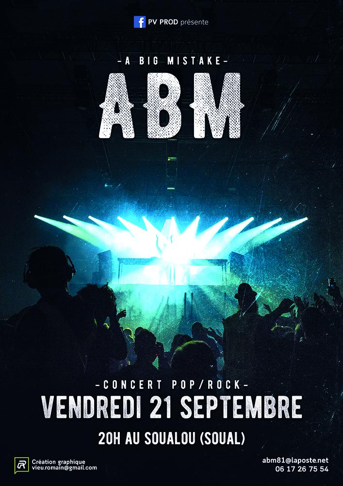 Concert au Soualou le 21 septembre