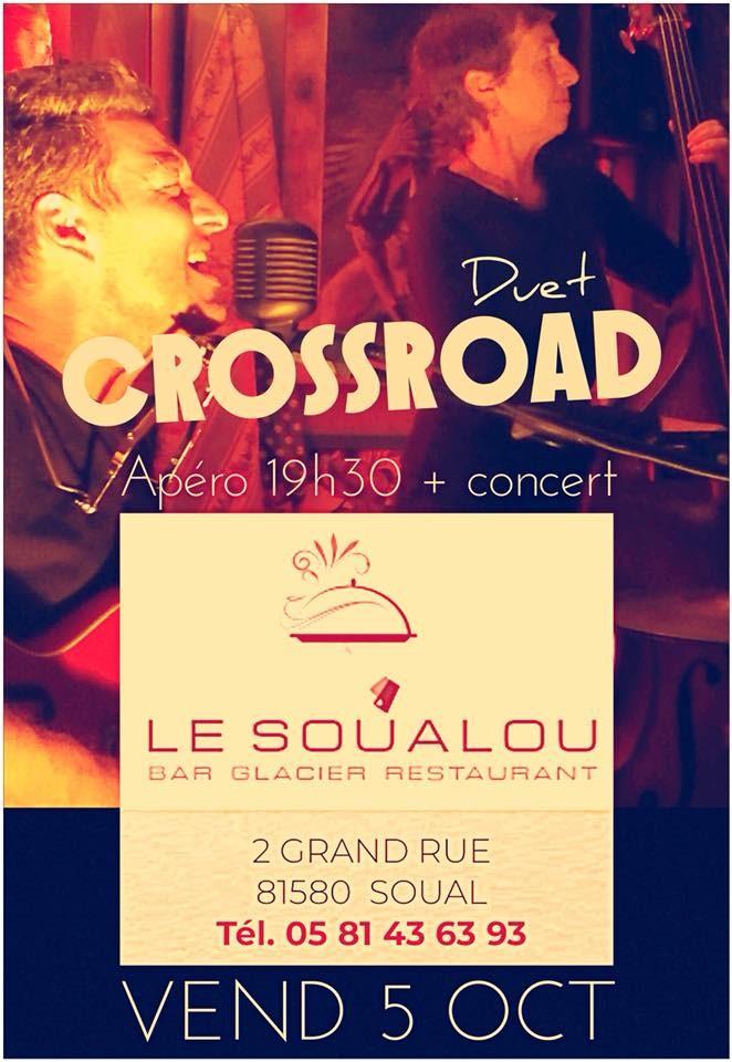 Concert au Soualou le 5 octobre