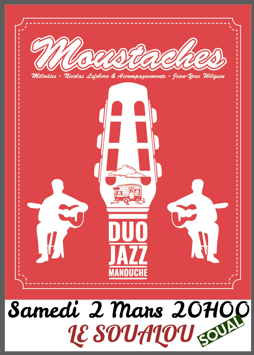 Concert de « Moustaches »
